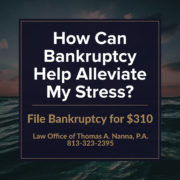 How Can Bankruptcy Help Alleviate My Stress